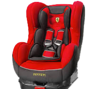 Rental Car Baby Seat 1-3 years old Free of Charge